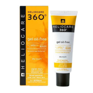 360º Gel Oil-Free Dry Touch Sunscreen, 50 мл
