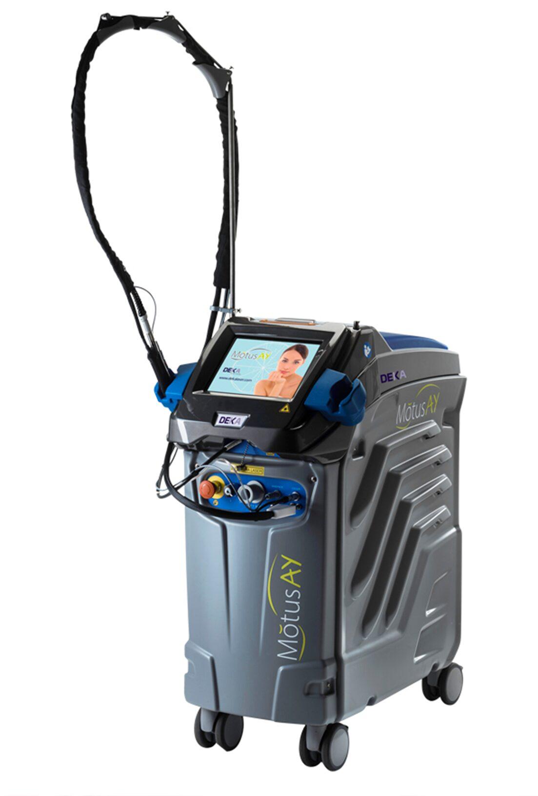 Александритовый лазер Motus Moveo (Deka)